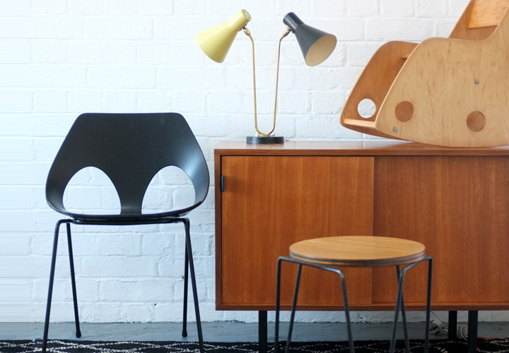 Vintage furniture from the 1930s, 1940s, 1950s, 1960s and 1970s