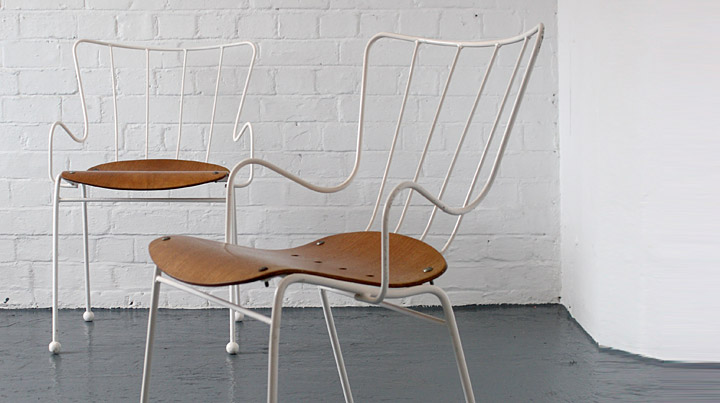 modflowers: Ernest Race Antelope Chairs