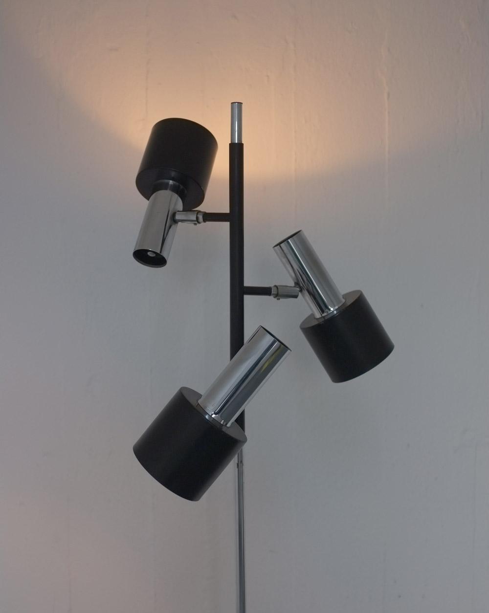 Lamp 1960 Novelty Lighting : 1960s Dutch floor lamp Modern Room - 20th Century Design