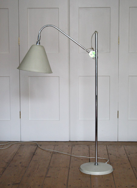 1930s bestlite bl3 floor lamp modern room 20th century design