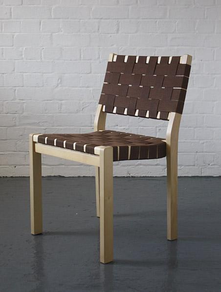 Alvar aalto 611 chairs artek modern room 20th century for Sedia 611 artek