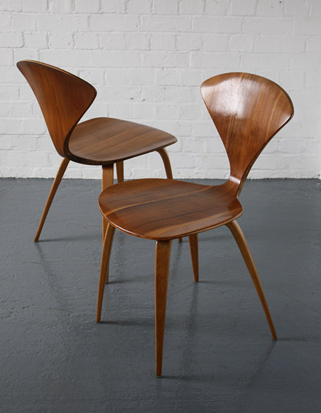 vintage norman cherner chairs