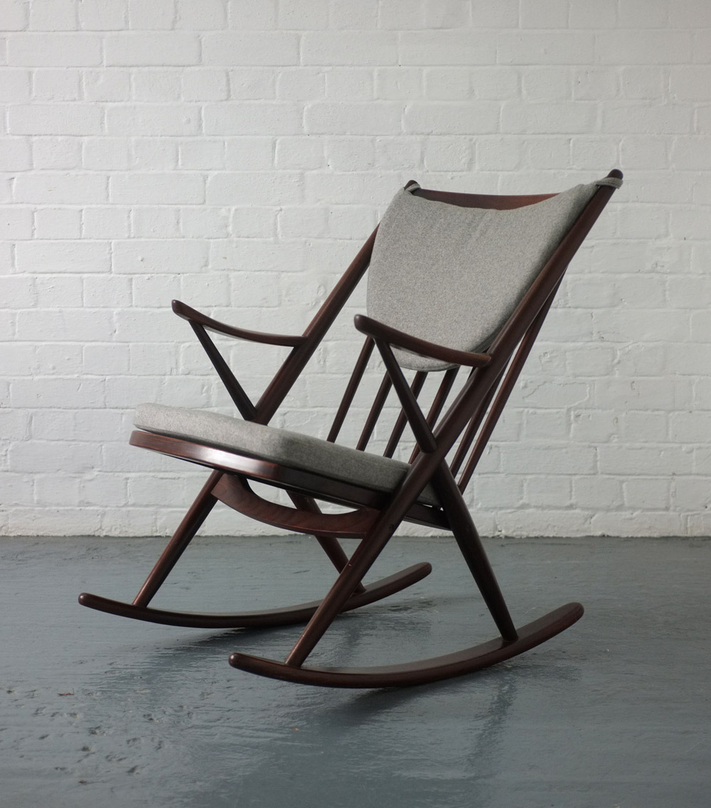 ... Reenskaug rocking chair for Bramin  Modern Room - 20th Century Design