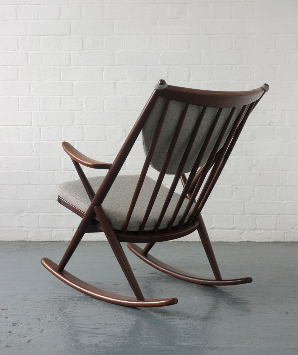 Frank Reenskaug rocking chair for Bramin