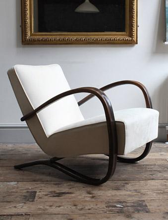 Jindrich Halabala H269 Chair Modern Room 20th Century