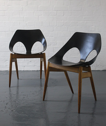 Carl Jacobs Jason Chairs For Kandya Modern Room 20th