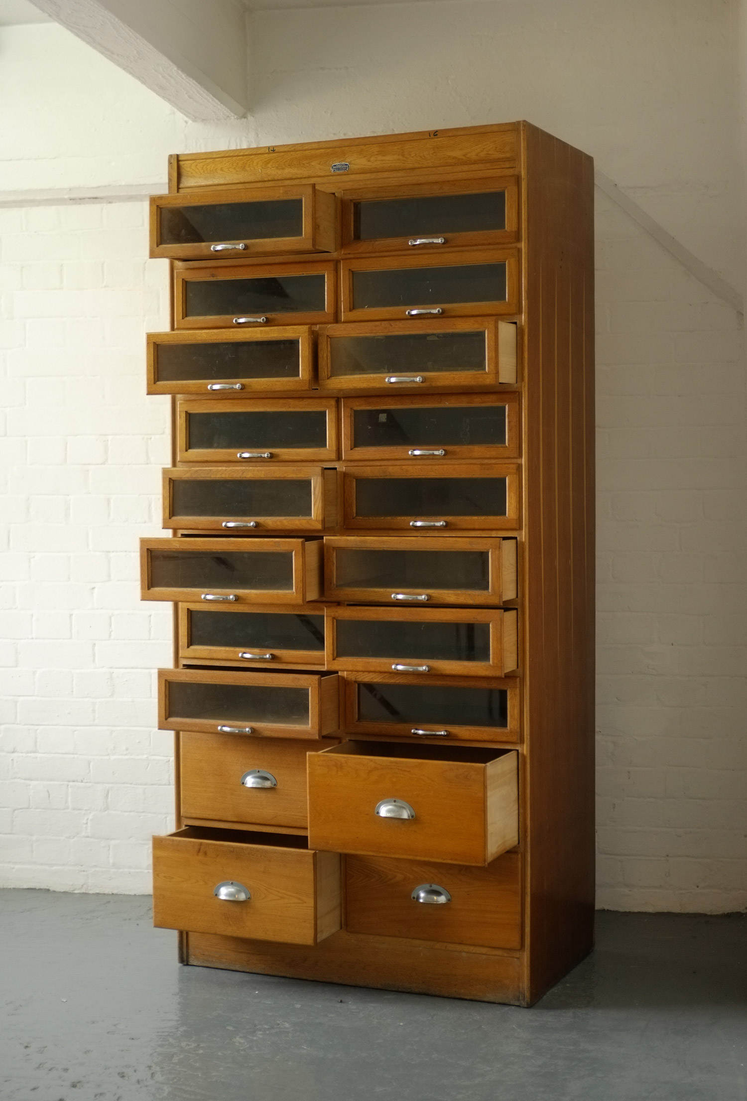 Vintage Haberdashery Cabinet Of Drawers Vintage Haberdashery Cabinet Of  Drawers ...