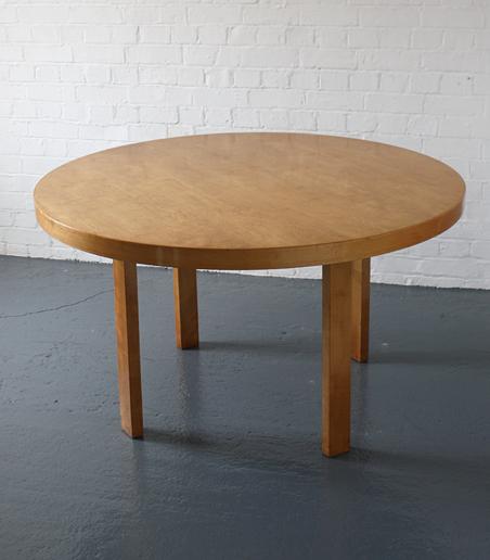 alvar aalto dining table finmar modern room 20th century design. Black Bedroom Furniture Sets. Home Design Ideas