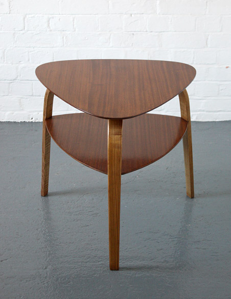 Bow Wood Table By Hugues Steiner Modern Room 20th