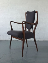 Rosewood chairs by AJ Milne for Heals, 1940s