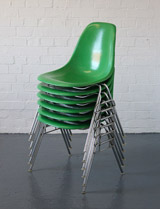 Vintage Eames stacking chairs