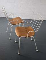 1950s Ernest Race Antelope chairs