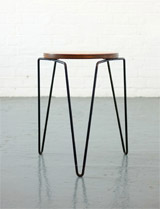 75 vintage stool by Florence Knoll