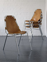Les Arcs chairs by Charlotte Perriand