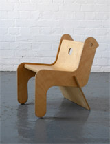 Robin Day Childsply plywood chair