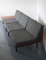 Form sofas designed by Robin Day for Hille
