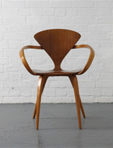 Vintage Norman Cherner armchair for Plycraft