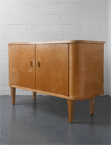 1940s plywood sideboard